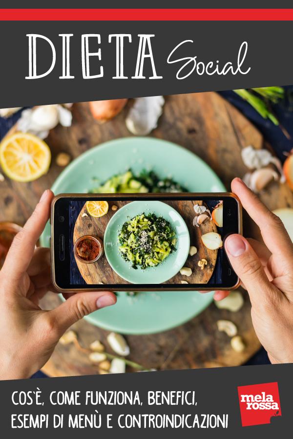dieta social: cos'è, benefici e controindicazioni
