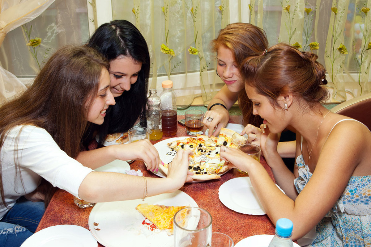 giovani cibo a domicilio