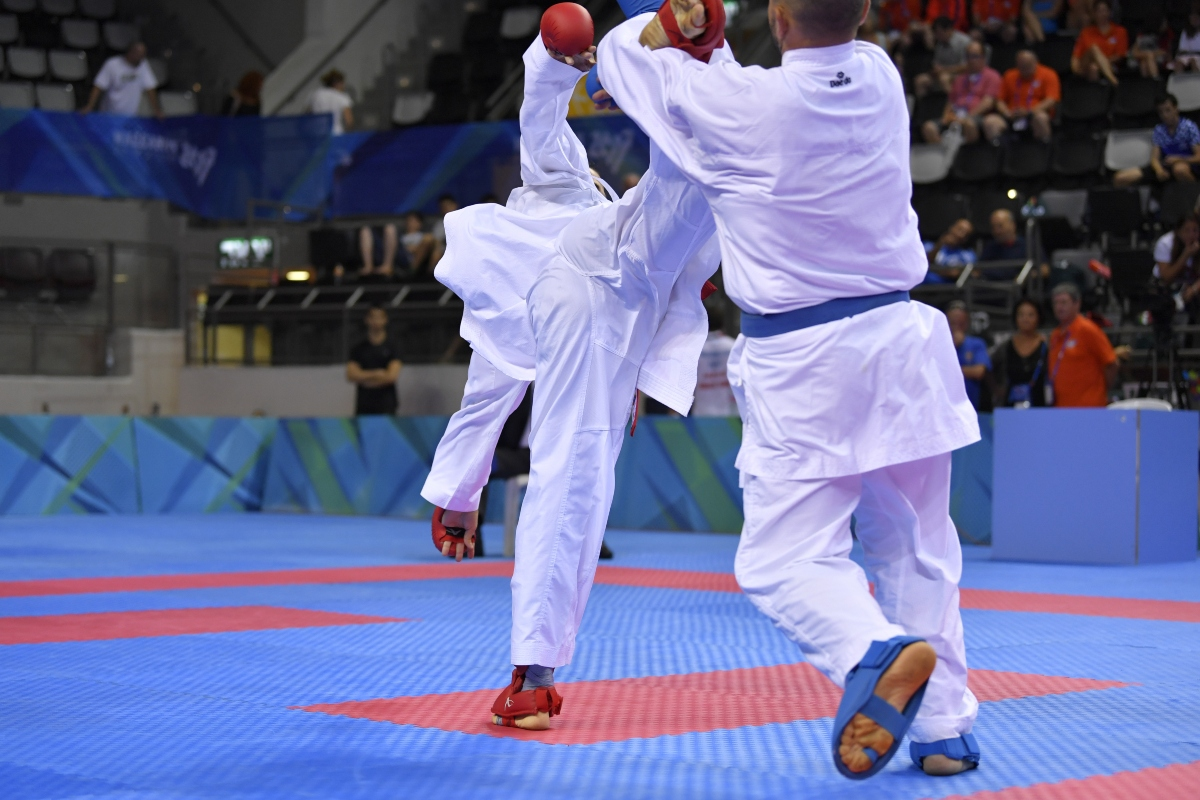 gambe nel karate