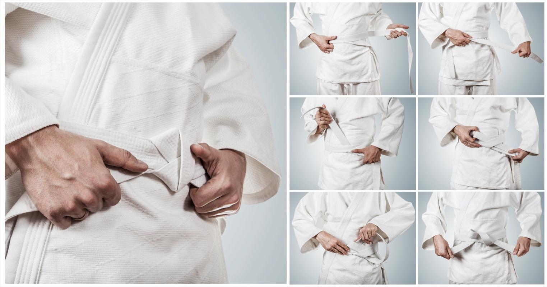karate: come allacciare la cintura