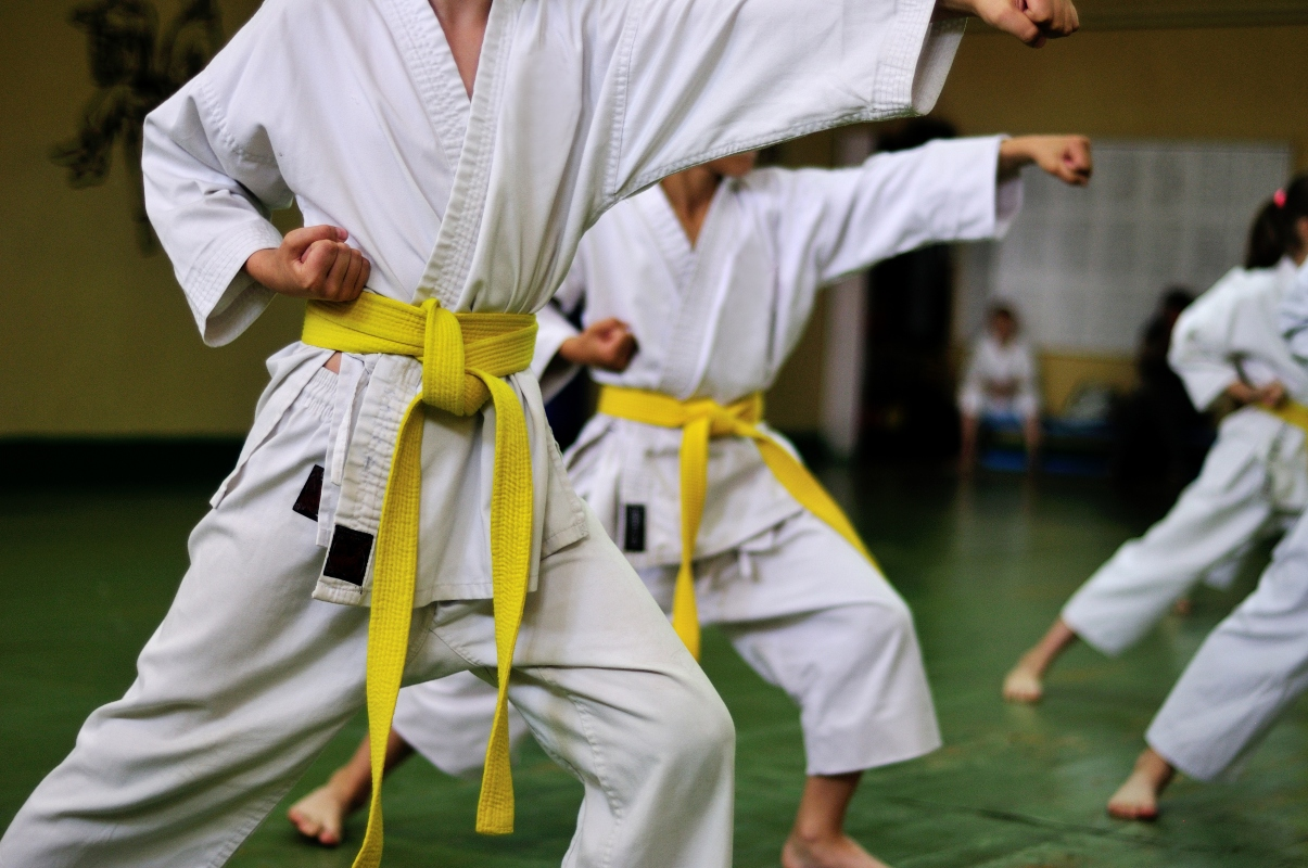 posizioni del karate: alcuni esempi