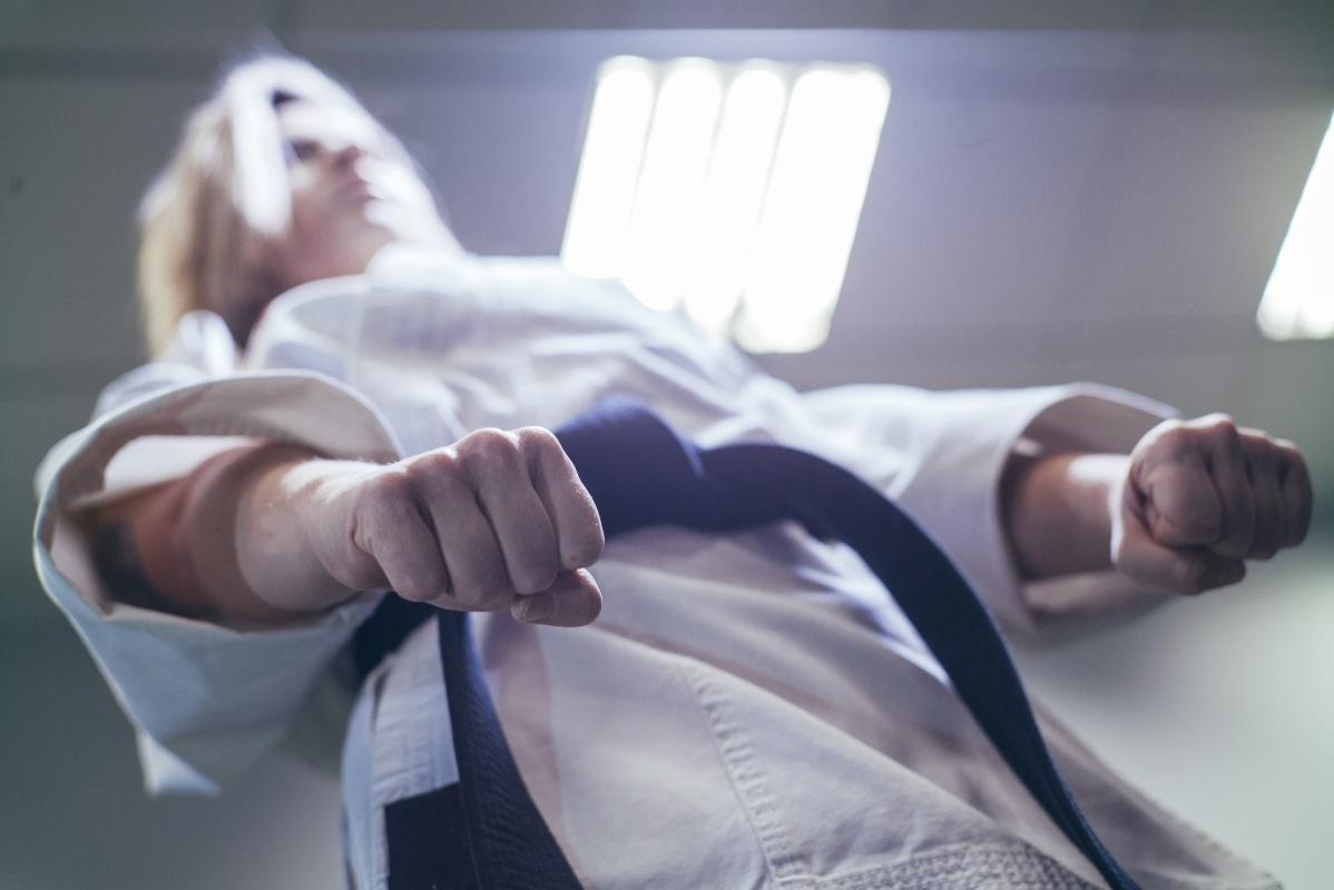 attacco karate