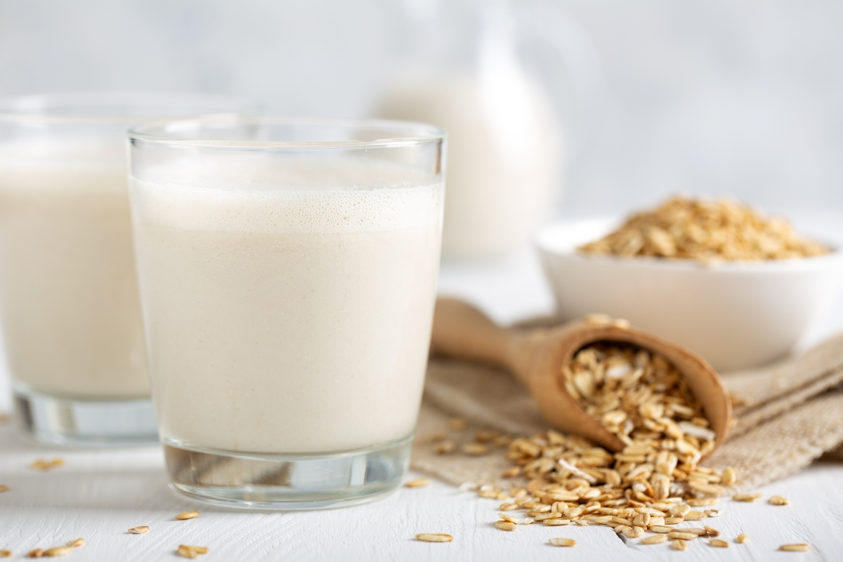 latte d'avena senza glutine: benefici