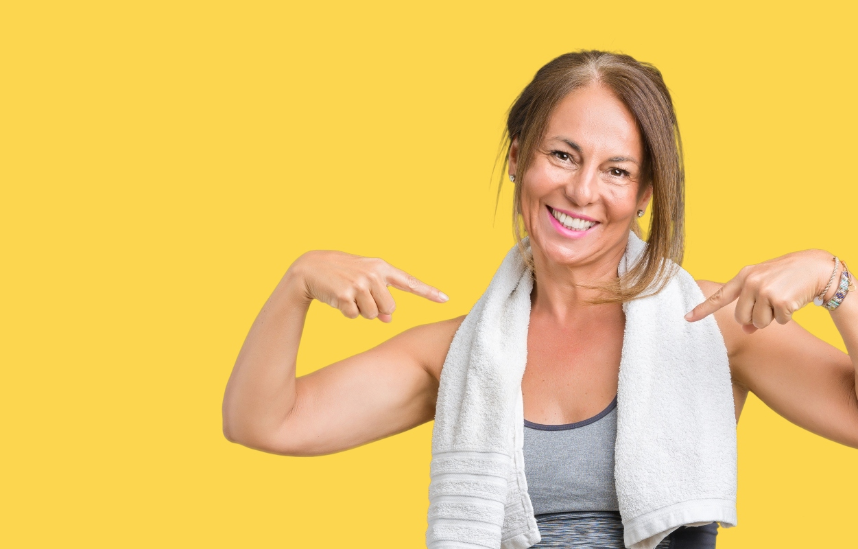 metabolismo lento: menopausa