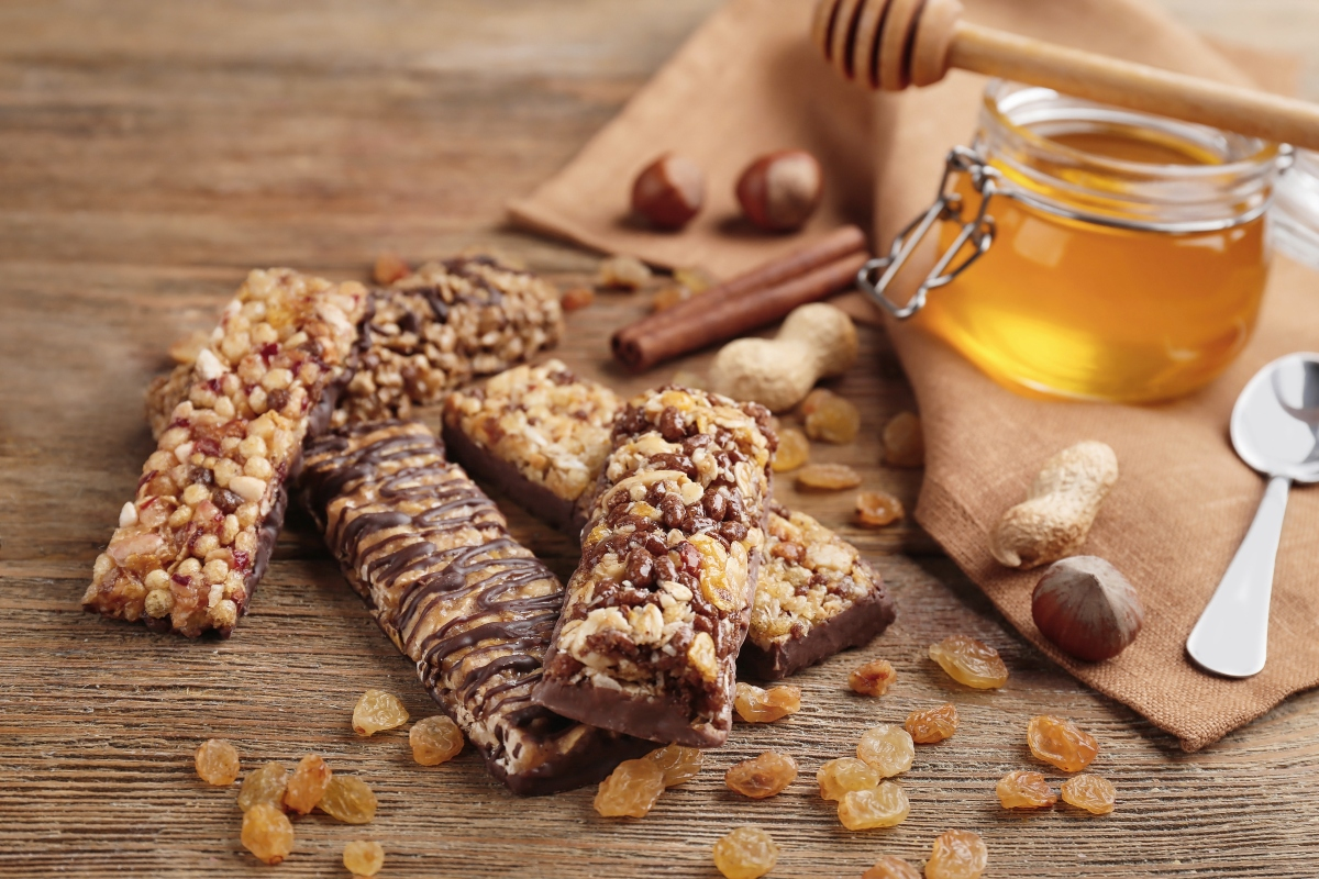 miele: barrette di cereali