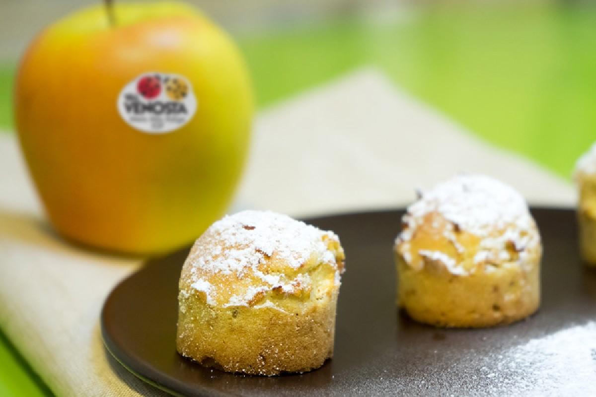 mini muffin mele zenzero