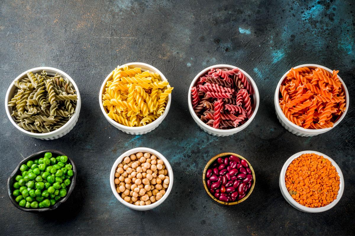 pasta di legumi caratteristiche nutrizionali