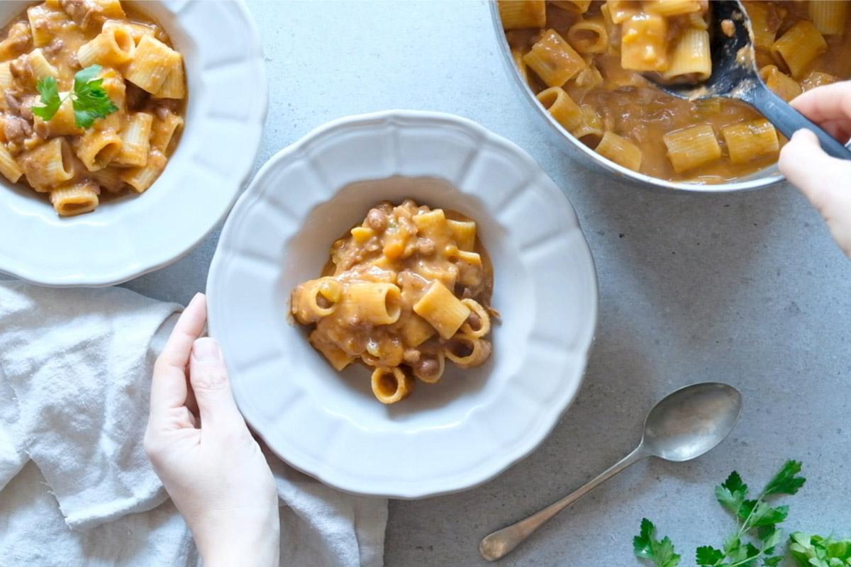 dieta in menopausa: Pasta e fagioli