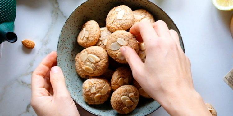 pasticcini alle mandorle senza zucchero