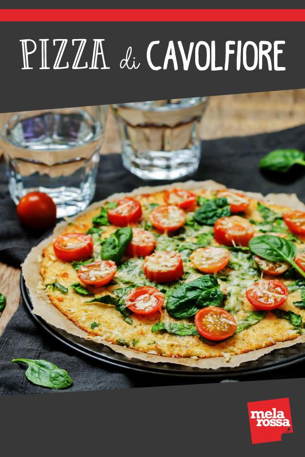 pizza di cavolfiore ricetta