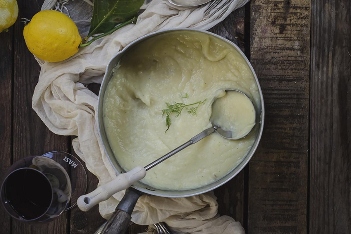 purè leggero di patate e finocchi