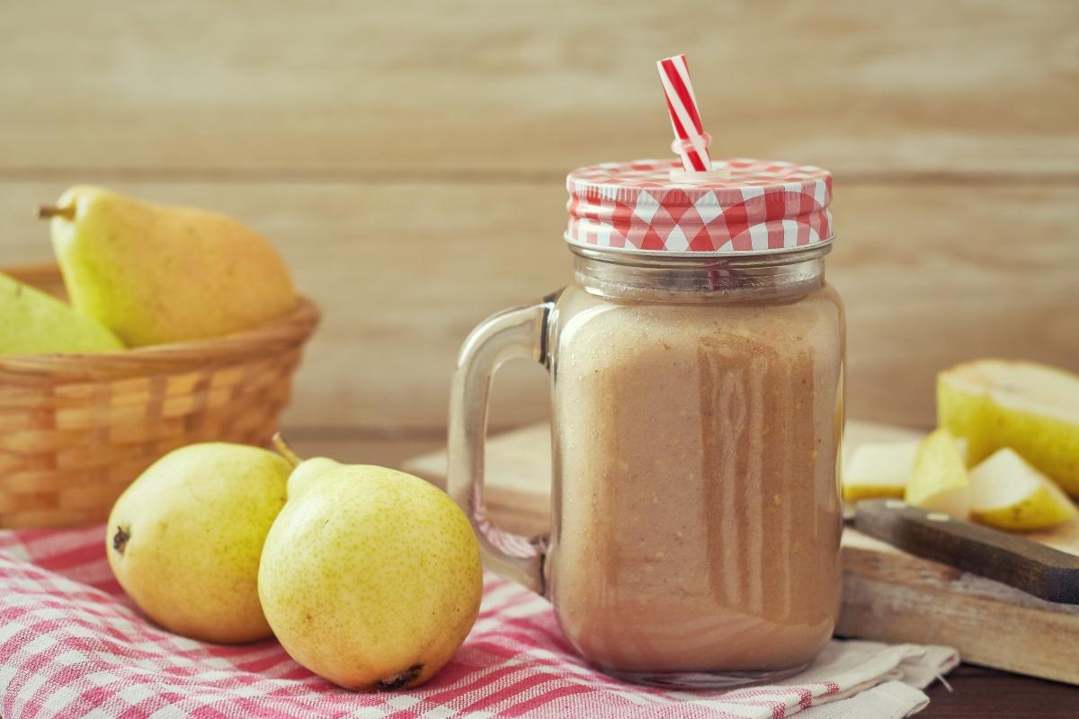 ricette con  miele: smoothie di pera