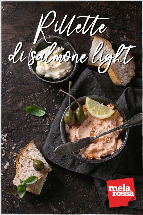 rillette di salmone light: la ricetta