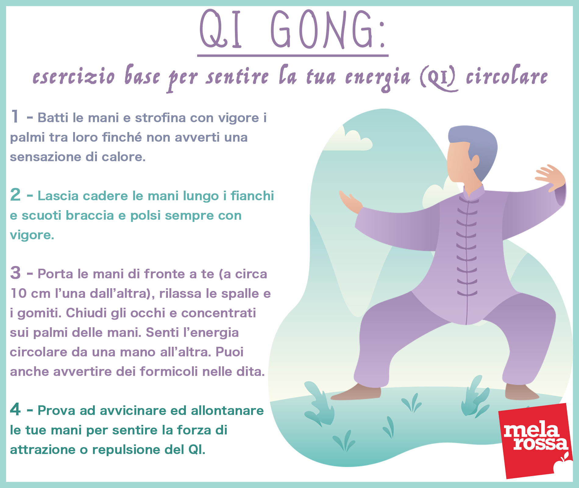 tai e qi gong: esercizio base per far circolare la tua energia