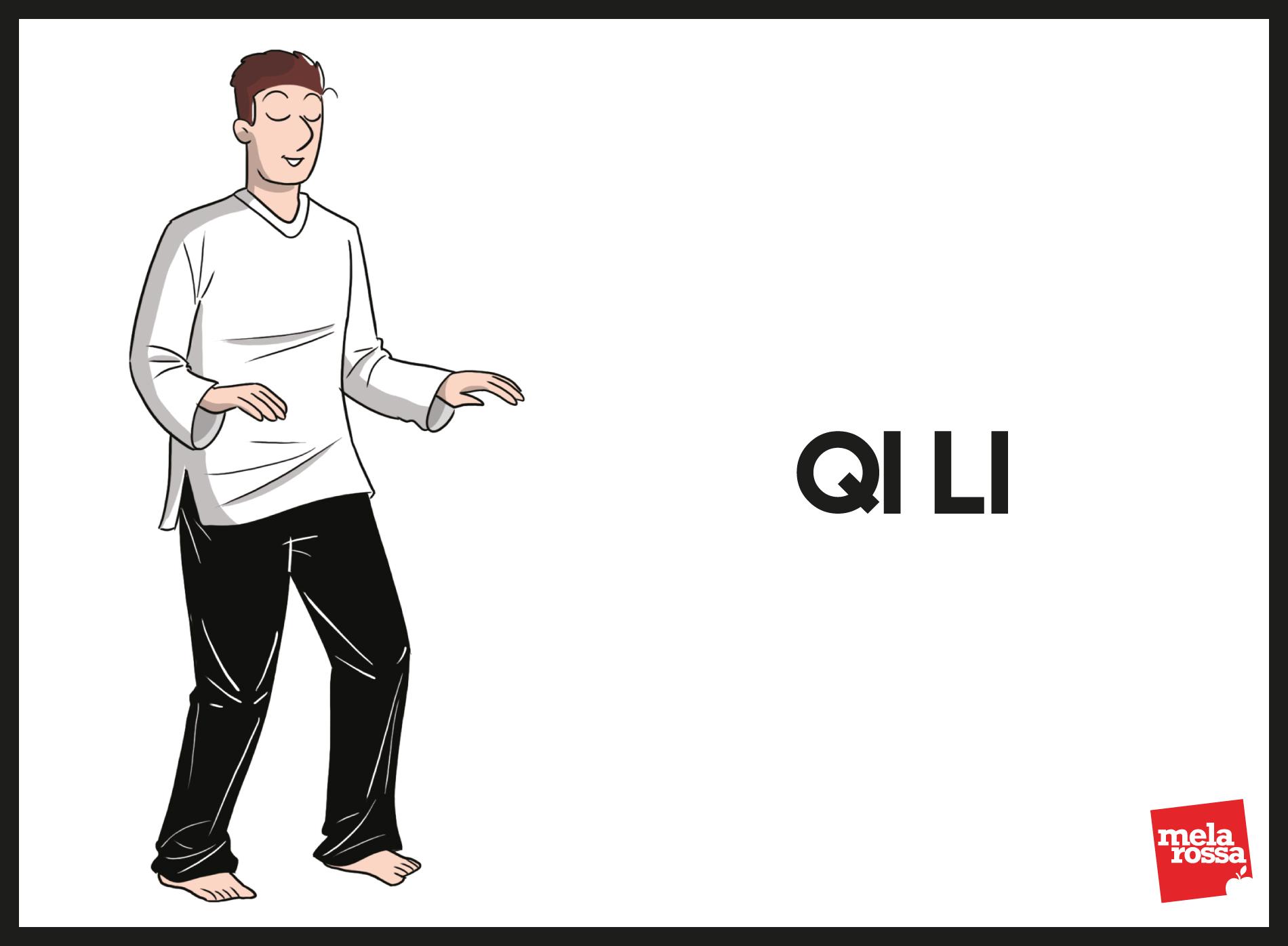 tai chi: esercizio base Qi li