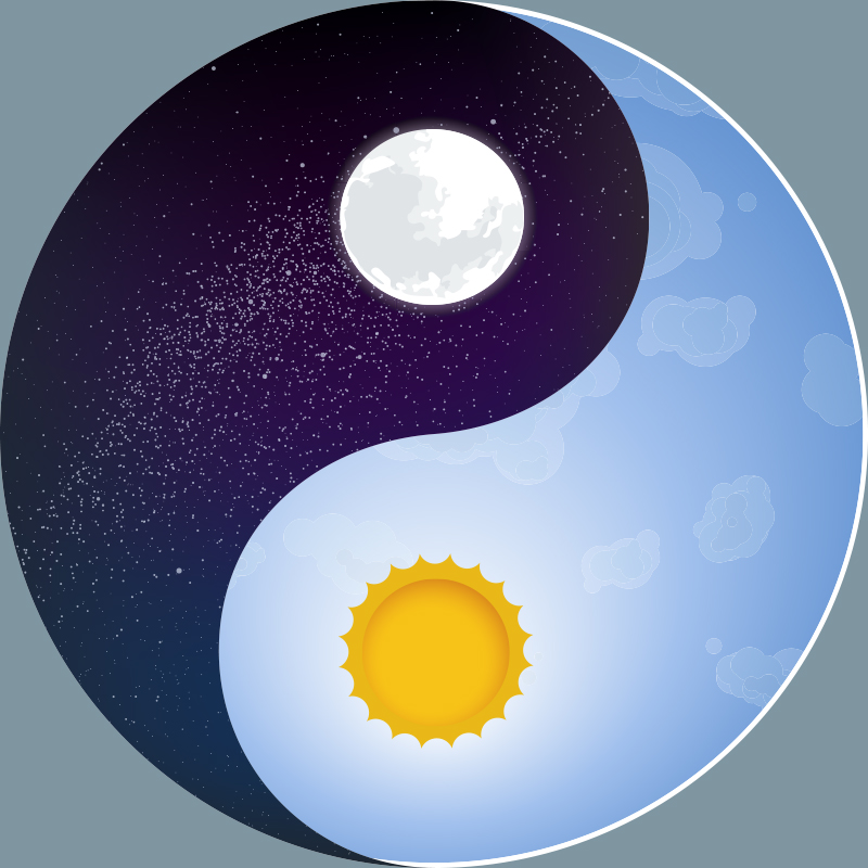 tai chi: lo Yin e lo yang