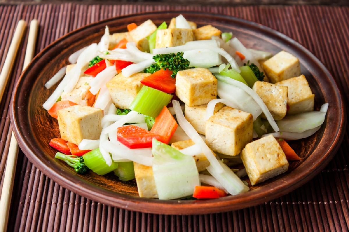 tofu verdura
