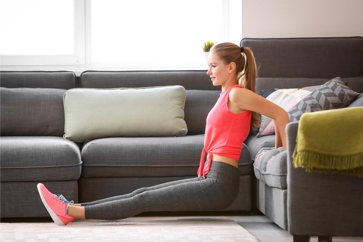 trucchi per trovare il tempo per lo sport: home fitness