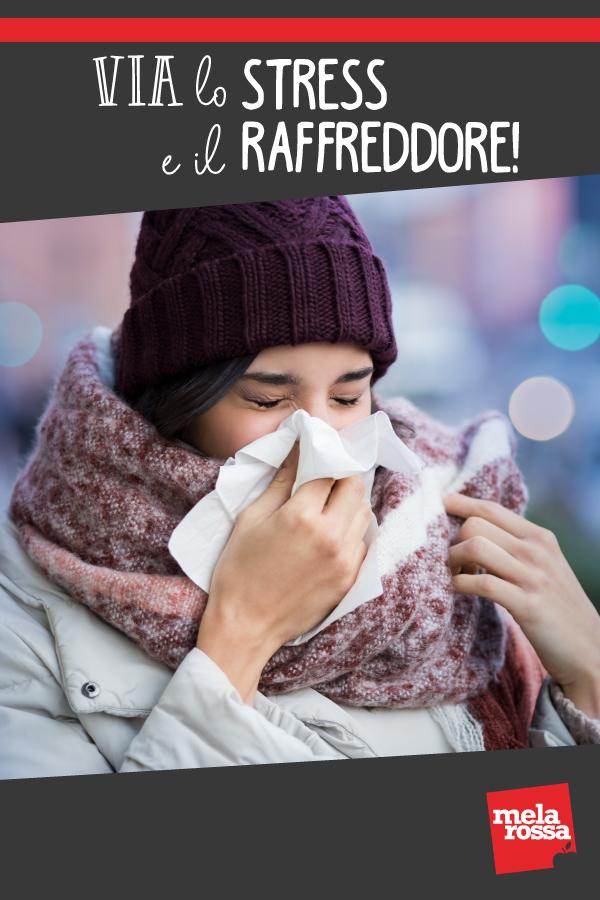 stress e raffreddore: perché ti ammali di più
