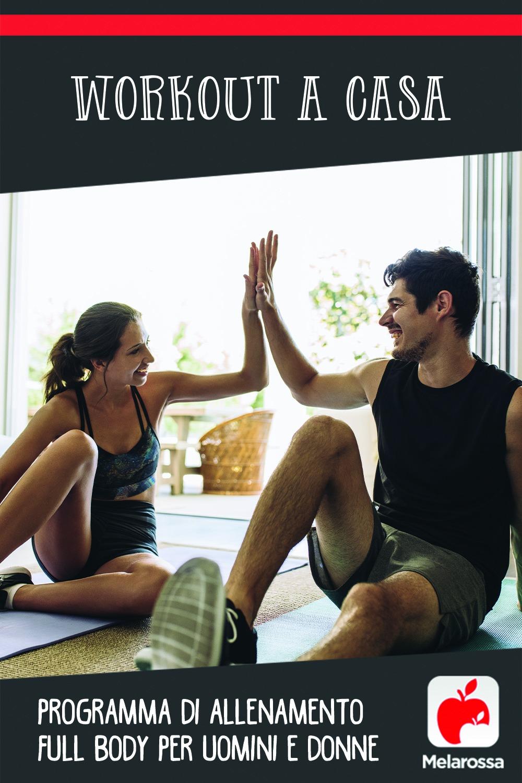 Workout a casa: programma di allenamento full body per uomini e donne