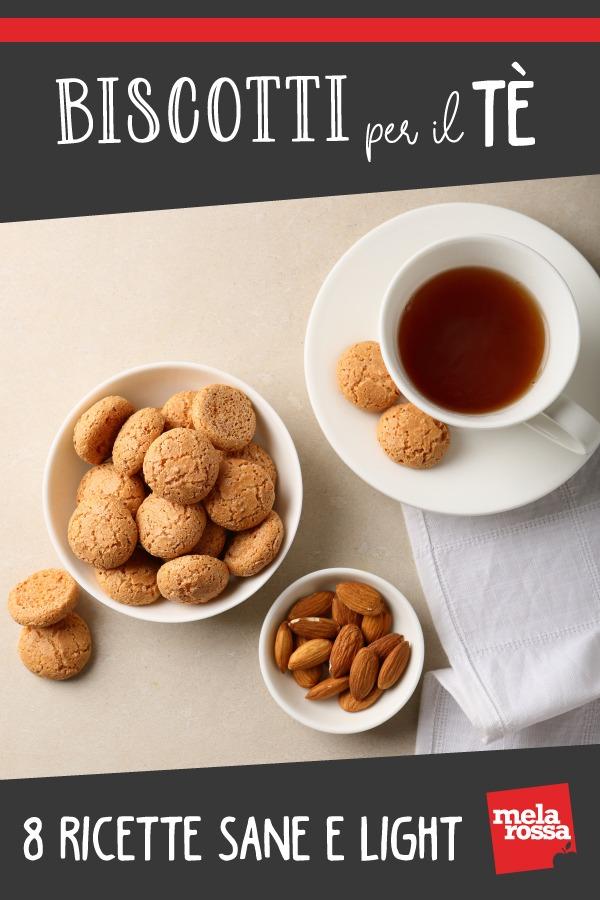 Biscotti per il tè, 8 ricette sane e light