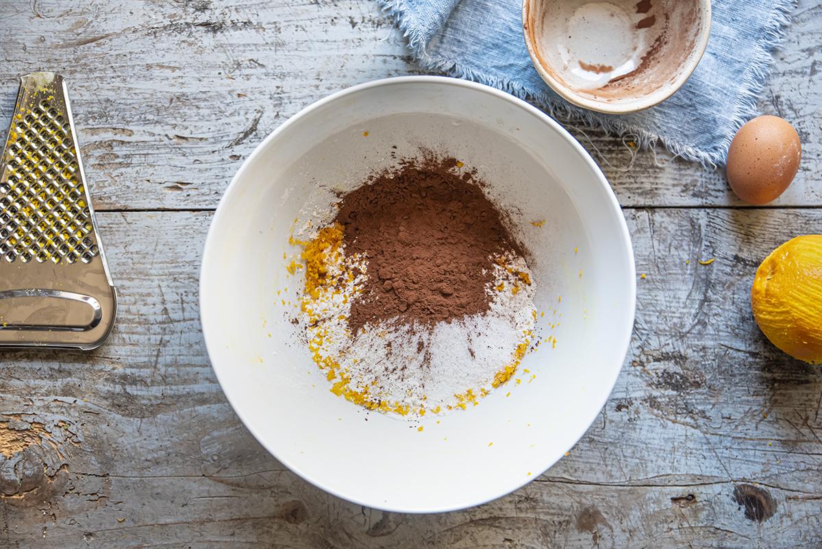 chiacchiere scorza cacao