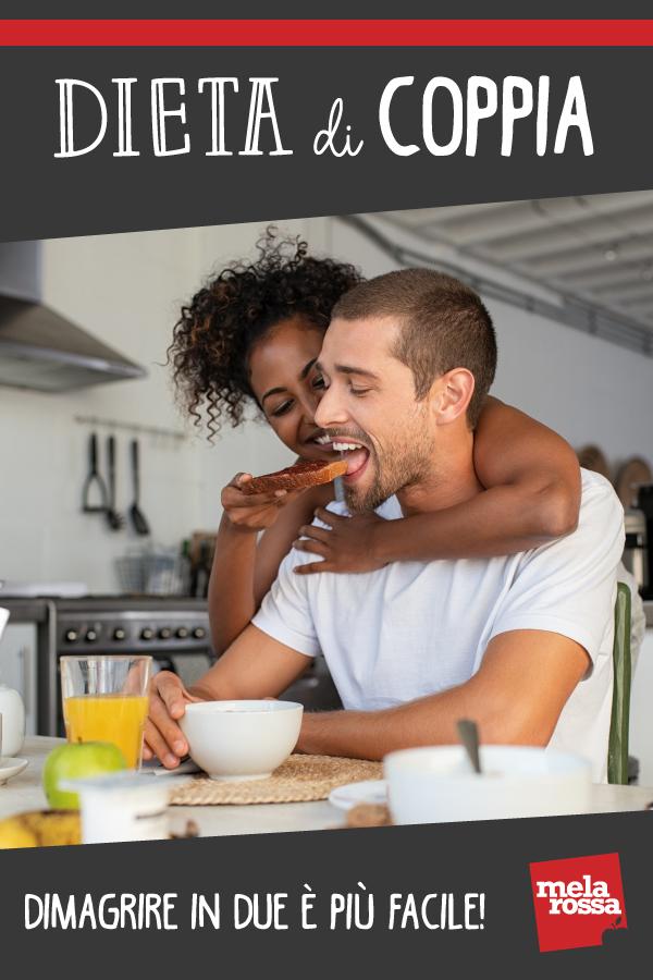 dieta di coppia: benefici e dritte per dimagrire assieme