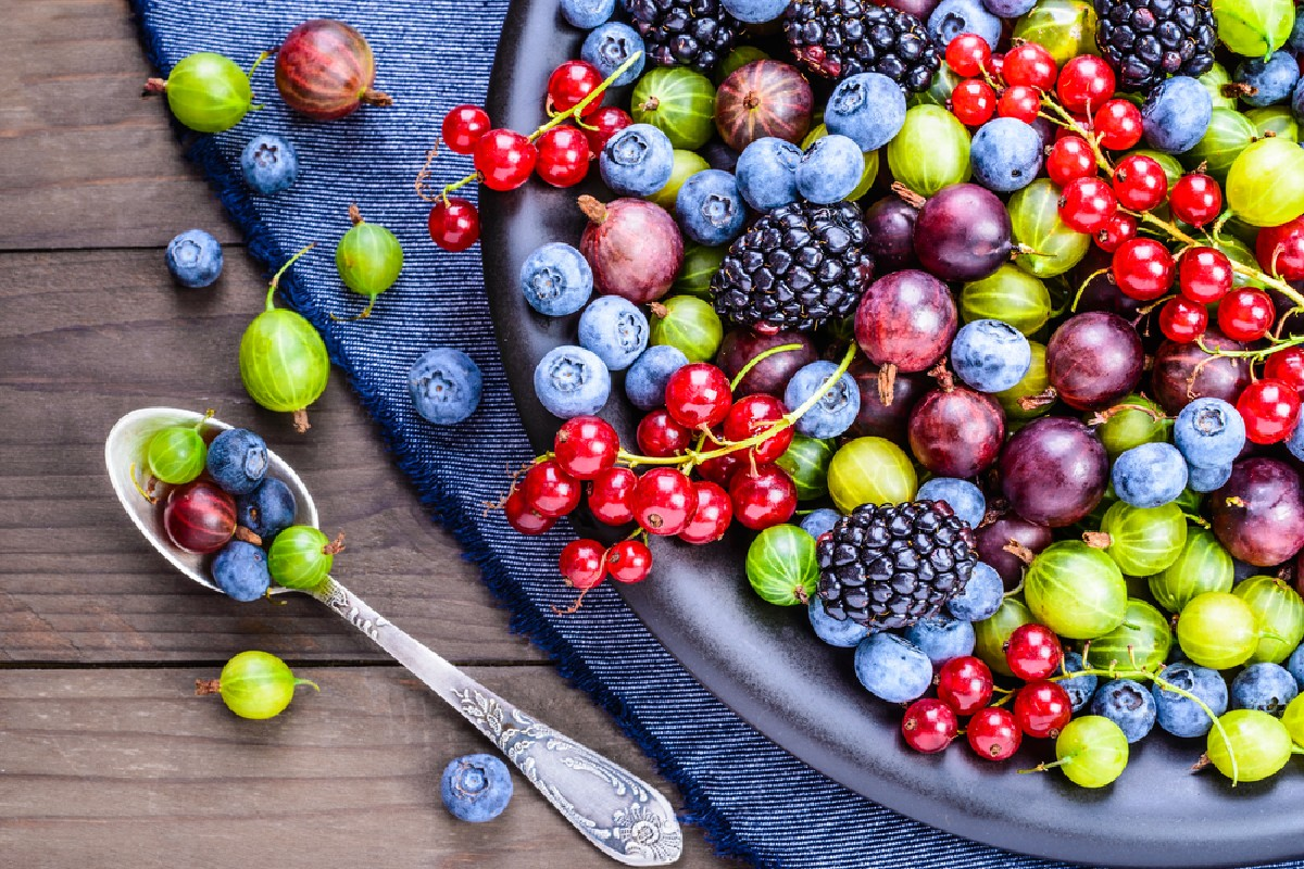 dieta in menopausa: frutti di bosco