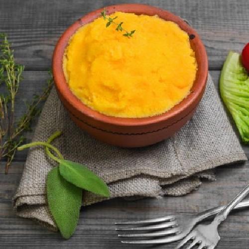 polenta carote e verza