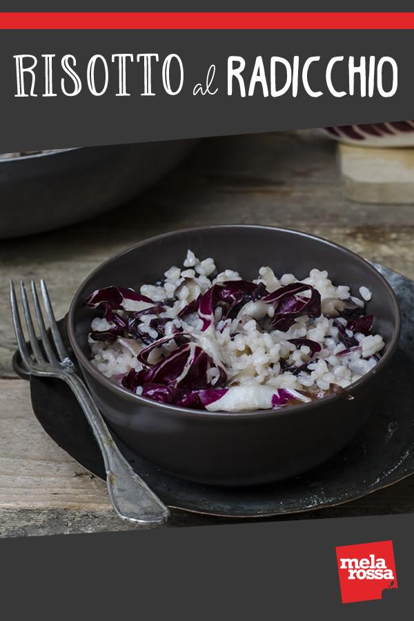 Risotto al radicchio: un primo piatto veloce e dietetico