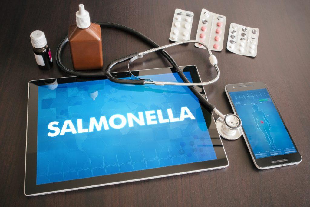 salmonella- diagnosi
