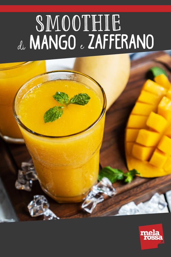 smoothie mango e zafferano