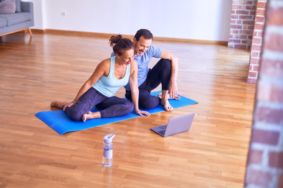 fare sport di coppia allenta lo stress