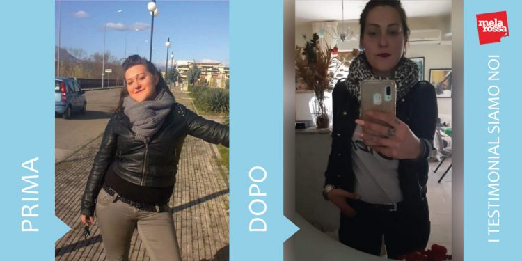 dieta melarossa Alessandra 17 kg