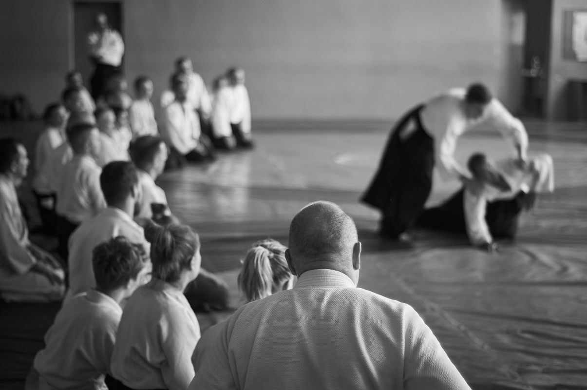 aikido: allievi e tecnica