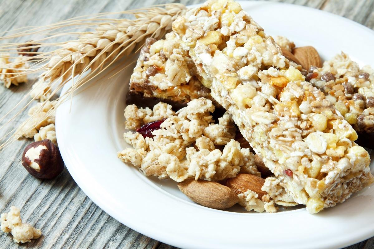 barrette ai cereali. ricette