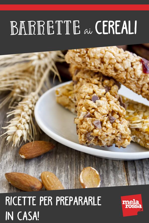 barrette ai cereali: 3 ricette per farle in casa