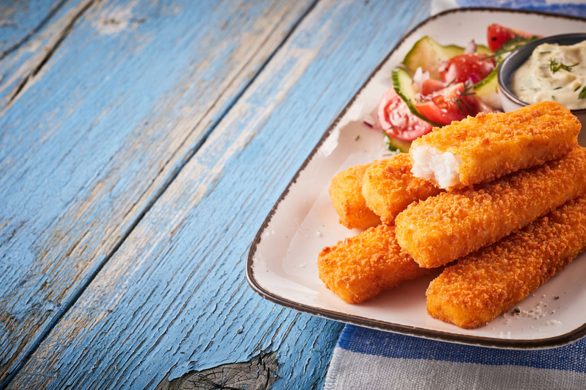 ricette con i bambini: bastoncini di pesce