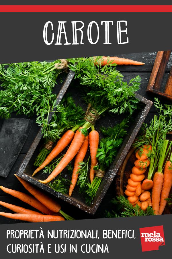 carote: proprietà e benefici e ricette