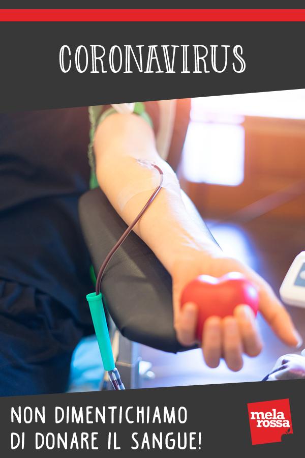 Coronavirus e donazione del sangue