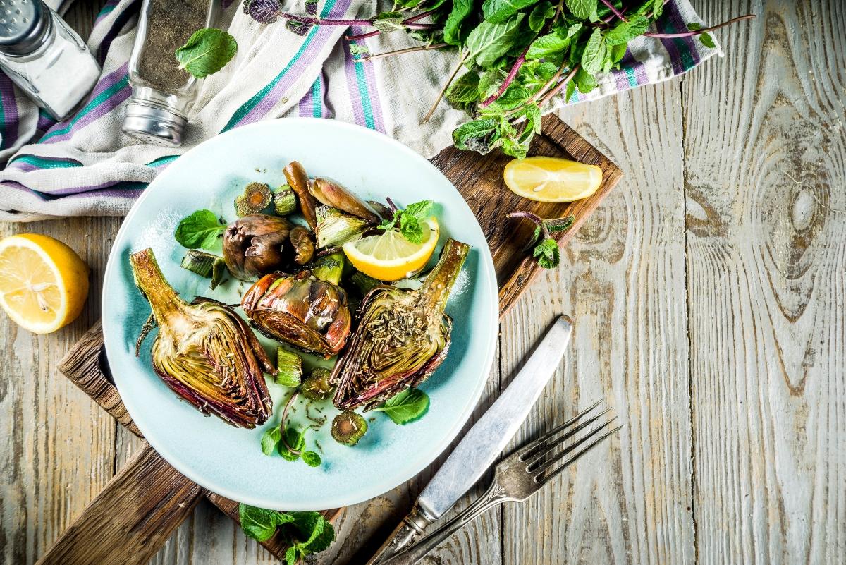 dieta in menopausa: carciofo