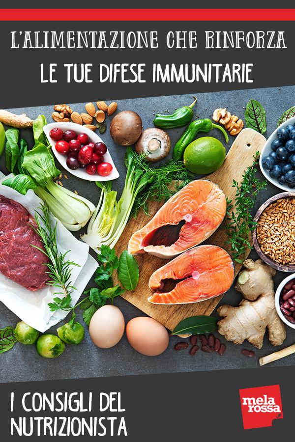 alimentazione difese immunitarie