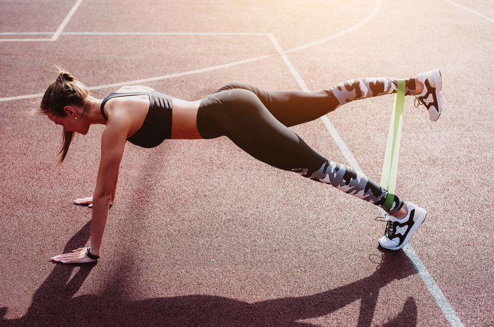 elastici fitness workout