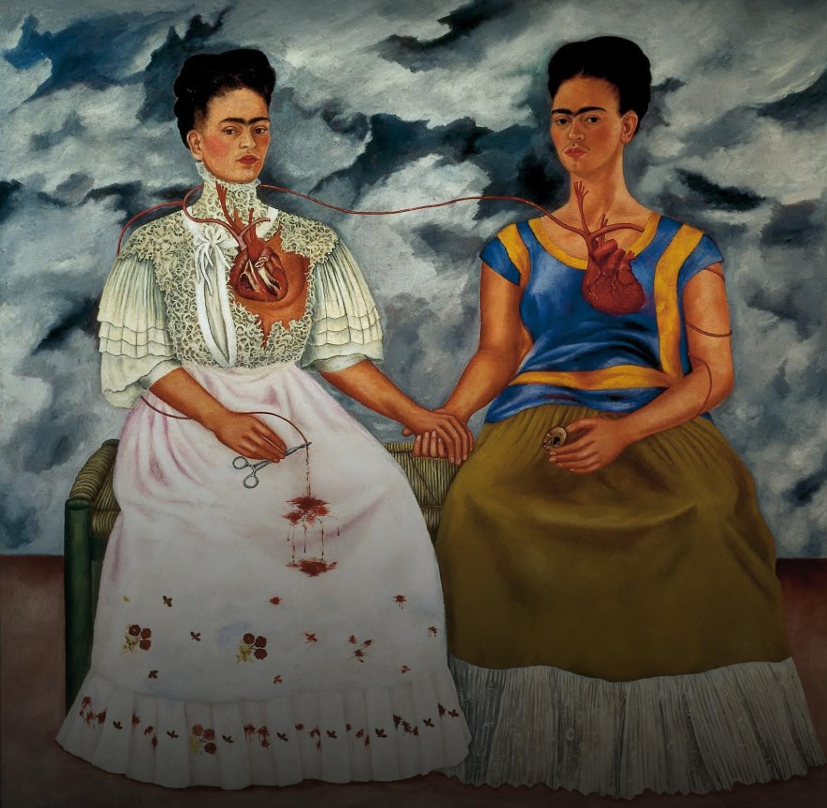 The Two Fridas, Frida Kahlo,1939