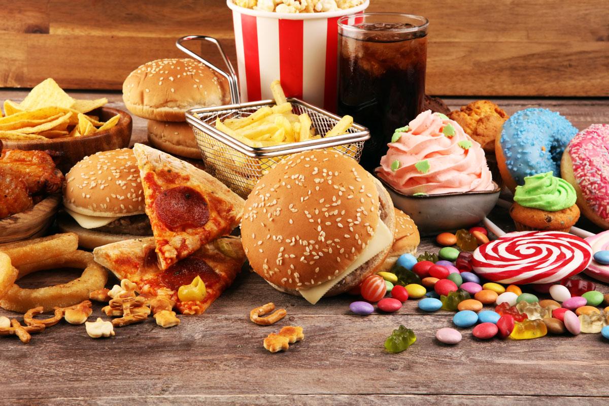 Junk food altera memoria e controllo dell'appetito