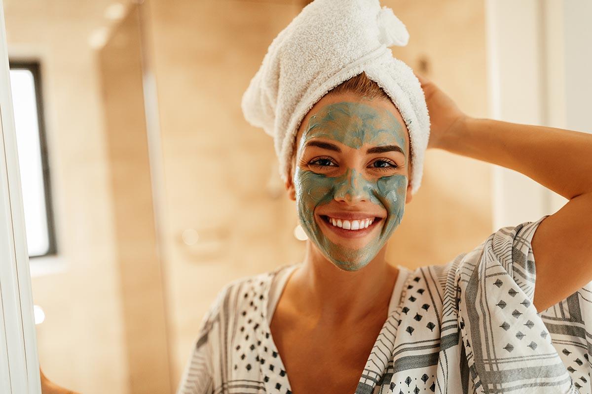 trattamenti beauty fai da te: maschera argilla