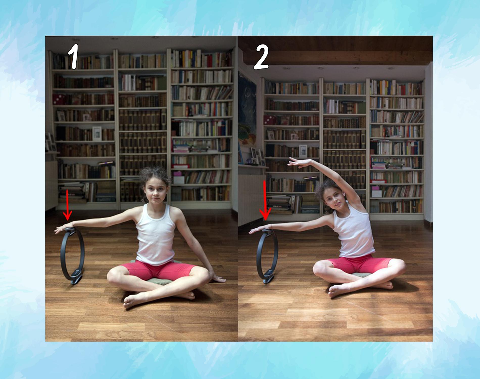 ring pilates: esercizi