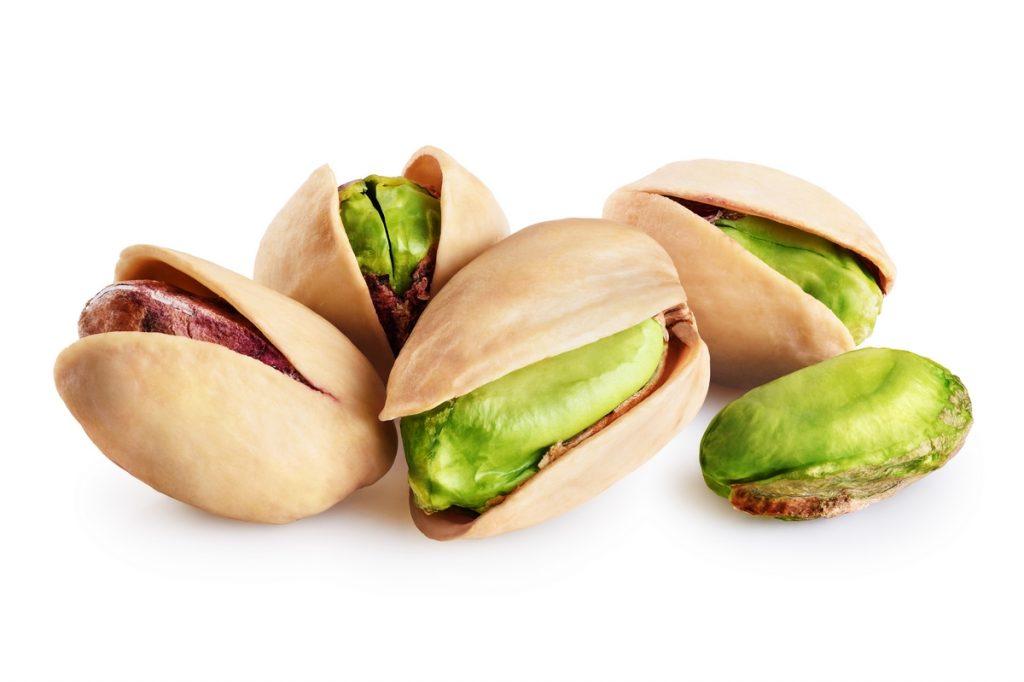 Gli estratti di pistacchio prevengono la crescita di batteri e virus