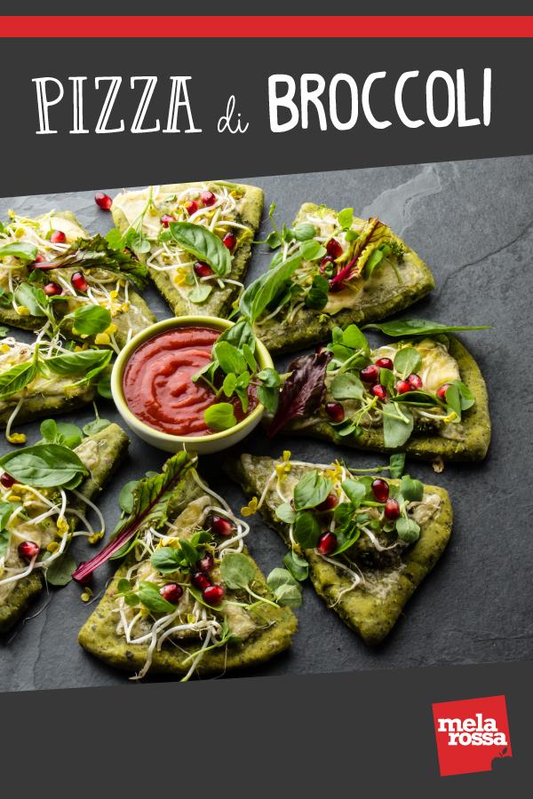 Pizza di broccoli ricetta per prepararla