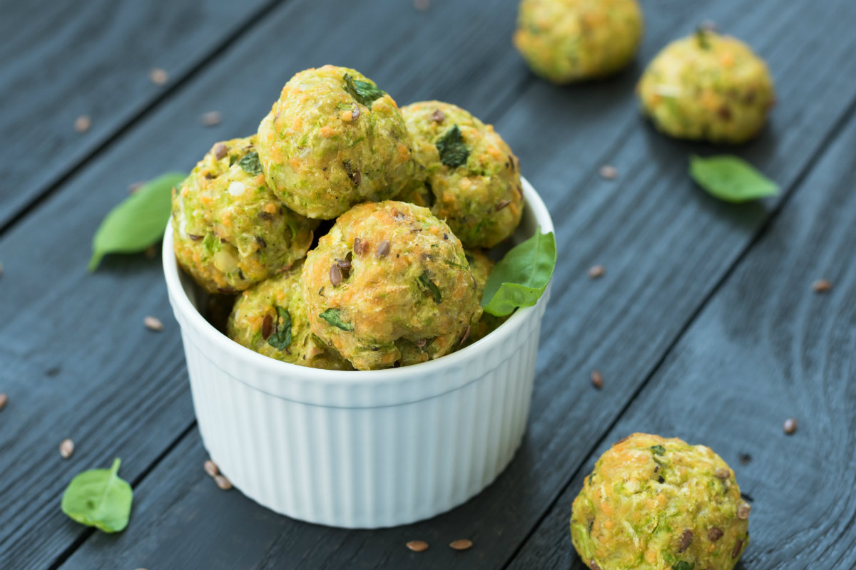 ricette da fare con bambini: polpette di verdure